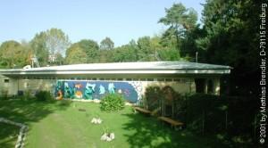 Clubheim Tauchclub Freiburg - Außenansicht