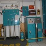 Kompressor im Clubheim des 1. TCF